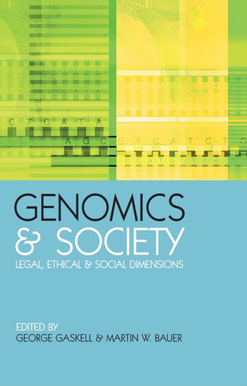 Genomics and Society Legal, Ethical and Social Dimensions book cover