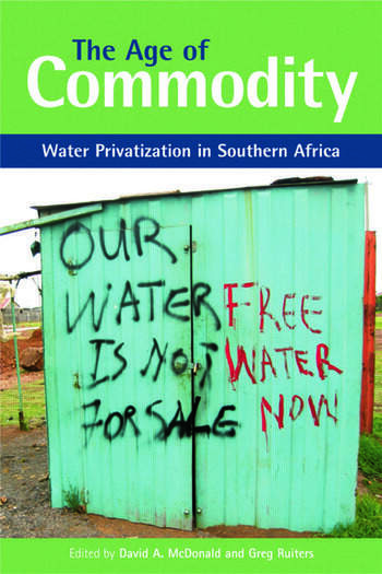 The Age of Commodity Water Privatization in Southern Africa book cover
