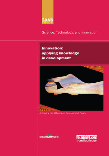 UN Millennium Development Library: Innovation Applying Knowledge in Development book cover