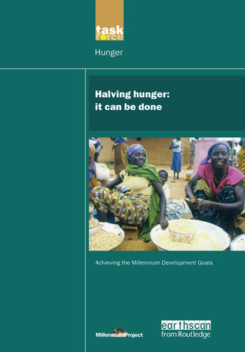 UN Millennium Development Library: Halving Hunger It Can Be Done book cover
