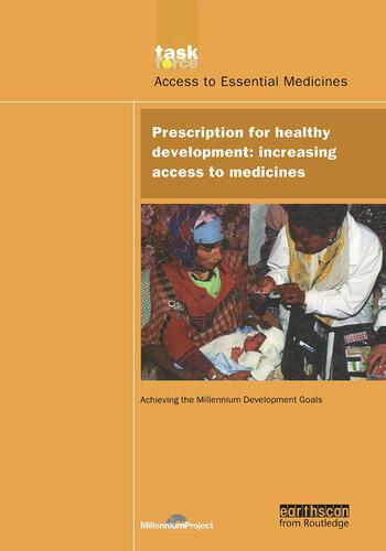 UN Millennium Development Library: Prescription for Healthy Development Increasing Access to Medicines book cover