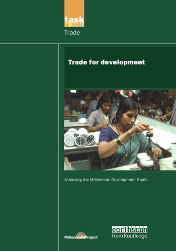 UN Millennium Development Library: Trade in Development book cover