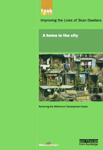 UN Millennium Development Library: A Home in The City book cover
