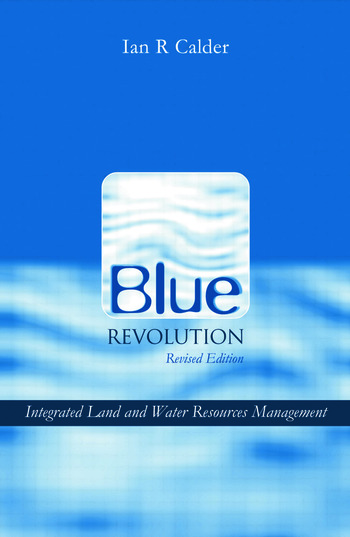 Blue Revolution Integrated Land and Water Resources Management book cover