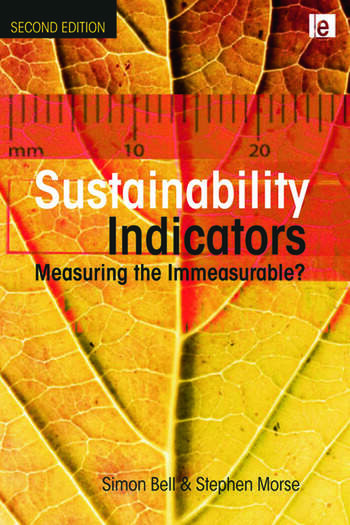 Sustainability Indicators Measuring the Immeasurable? book cover