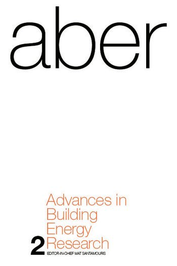 Advances in Building Energy Research Volume 2 book cover