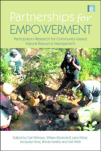 Partnerships for Empowerment Participatory Research for Community-based Natural Resource Management book cover