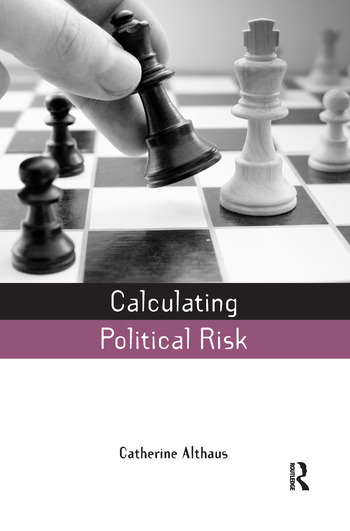Calculating Political Risk book cover