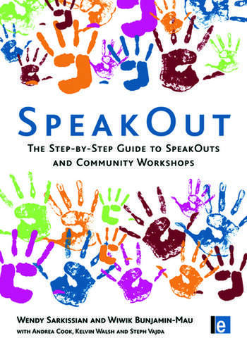 SpeakOut The Step-by-Step Guide to SpeakOuts and Community Workshops book cover