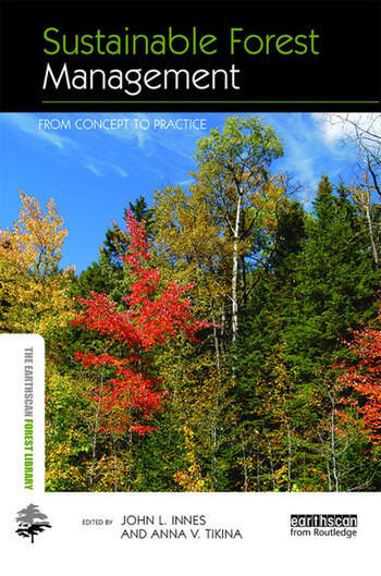 Sustainable Forest Management From Concept to Practice book cover