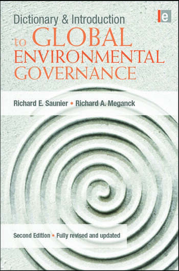 Dictionary and Introduction to Global Environmental Governance book cover