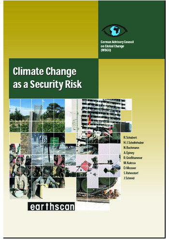 Climate Change as a Security Risk book cover