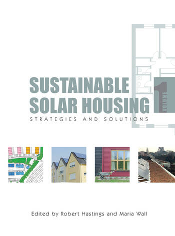 Sustainable Solar Housing Volume One - Strategies and Solutions book cover