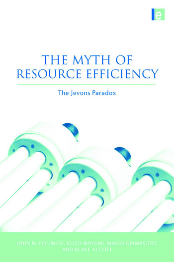 The Myth of Resource Efficiency The Jevons Paradox book cover
