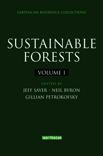Sustainable Forests book cover