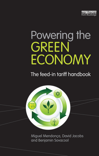 Powering the Green Economy The Feed-in Tariff Handbook book cover