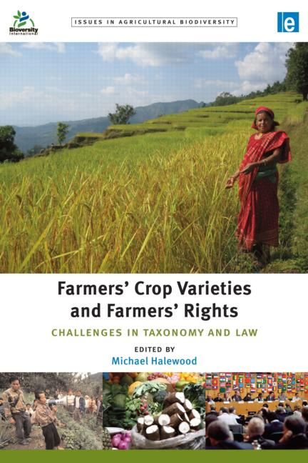 Farmers' Crop Varieties and Farmers' Rights Challenges in Taxonomy and Law book cover
