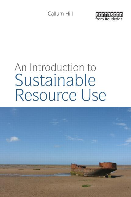 An Introduction to Sustainable Resource Use book cover