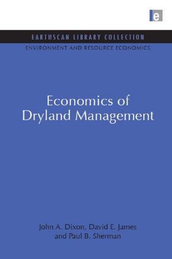 Economics of Dryland Management book cover