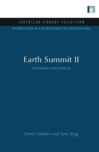 Earth Summit II Outcomes and Analysis book cover