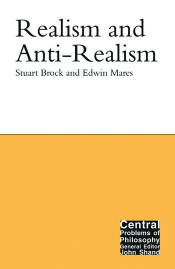 Realism and Anti-Realism book cover