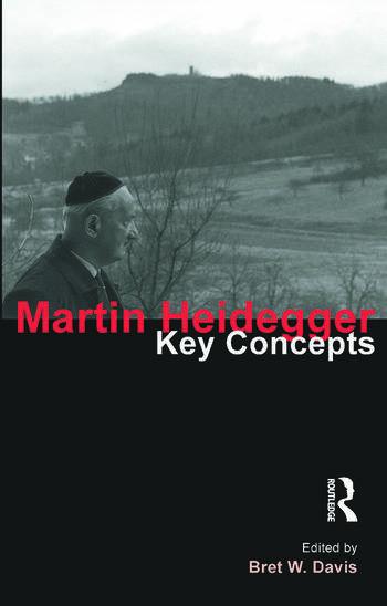 Martin Heidegger Key Concepts book cover