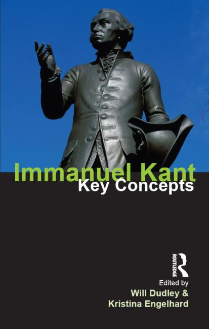Immanuel Kant Key Concepts book cover