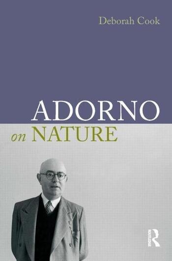 Adorno on Nature book cover