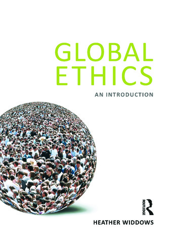 Global Ethics An Introduction book cover