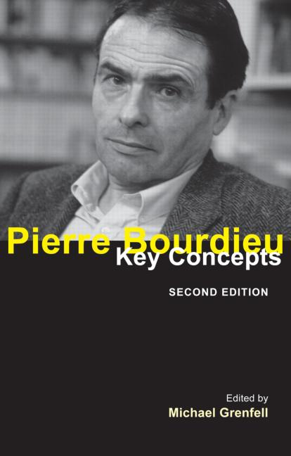 Pierre Bourdieu Key Concepts book cover