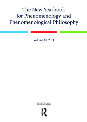 The New Yearbook for Phenomenology and Phenomenological Philosophy Volume 11 book cover