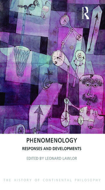 Phenomenology Responses and Developments book cover
