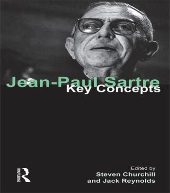 Jean-Paul Sartre Key Concepts book cover
