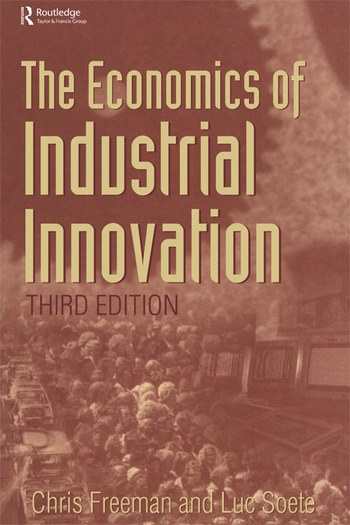Economics of Industrial Innovation book cover
