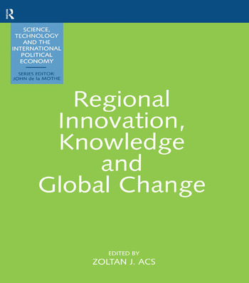Regional Innovation And Global book cover