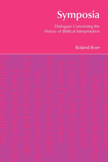 Symposia Dialogues Concerning the History of Biblical Interpretation book cover