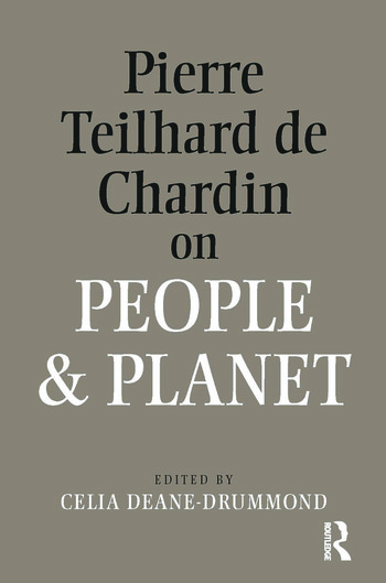 Pierre Teilhard De Chardin on People and Planet book cover