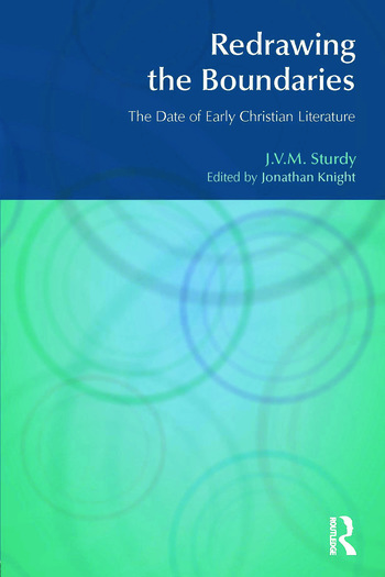 Redrawing the Boundaries The Date of Early Christian Literature book cover