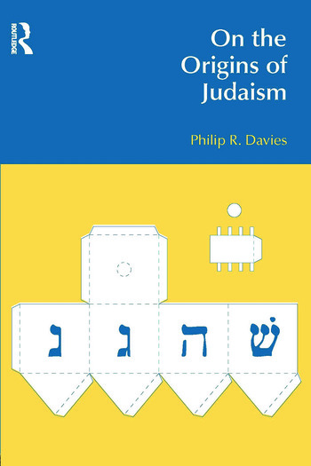 On the Origins of Judaism book cover