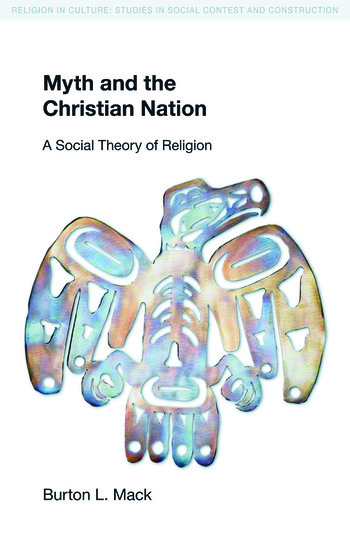 Myth and the Christian Nation book cover