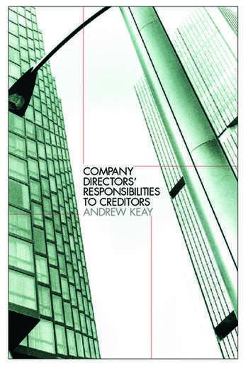 Company Directors' Responsibilities to Creditors book cover