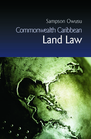 Commonwealth Caribbean Land Law book cover