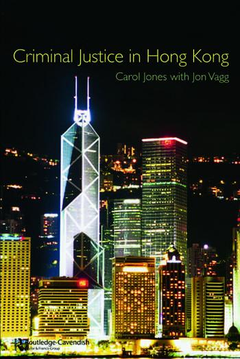 Criminal Justice in Hong Kong book cover