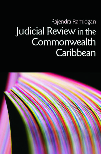 Judicial Review in the Commonwealth Caribbean book cover