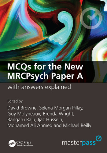 MCQs for the New MRCPsych Paper A with Answers Explained book cover
