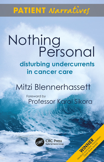 Nothing Personal Disturbing Undercurrents in Cancer Care book cover