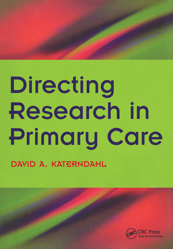 Directing Research in Primary Care Bk. 2, Going Clinical book cover