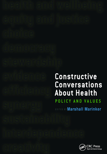 Constructive Conversations About Health Pt. 2, Perspectives on Policy and Practice book cover