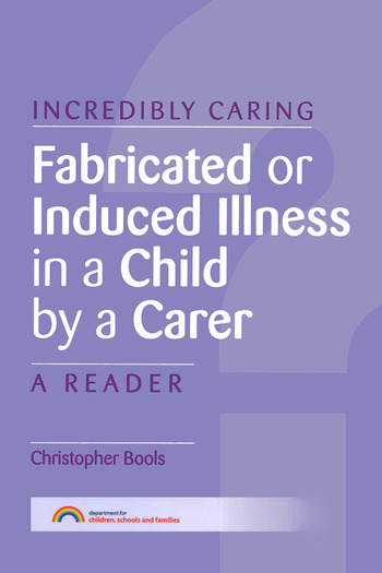 Fabricated or Induced Illness in a Child by a Carer A Reader book cover