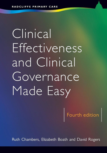 Clinical Effectiveness and Clinical Governance Made Easy book cover